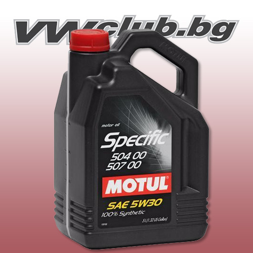 Motul Specific VW 504.00-507.00 5W30 5L